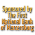 Sponsored By The First National Bank of Mercersburg